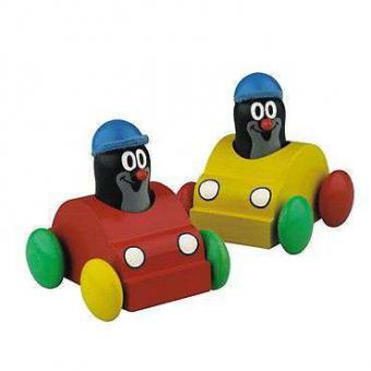 Der kleine Maulwurf im quietschenden Auto