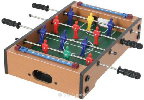 Mini Holz-Tischfußballspiel