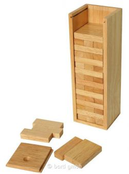 Stacking Tower with Wooden Box