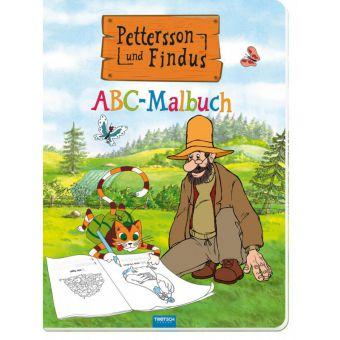 Pettersson & Findus - ABC- Malbuch
