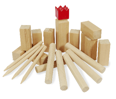 Kubb Beech FSC® with red crown