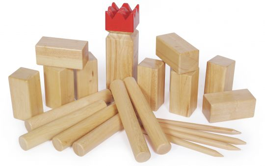 Kubb game Competition Rubberwood