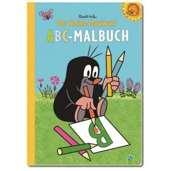 Kleiner Maulwurf - ABC-Malbuch