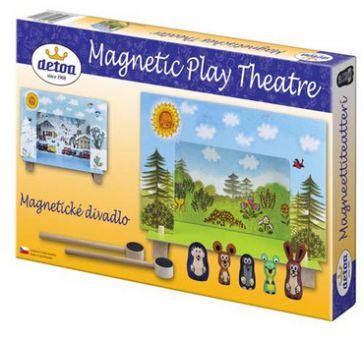Magnetisches Theater mit dem kleinen Maulwurf
