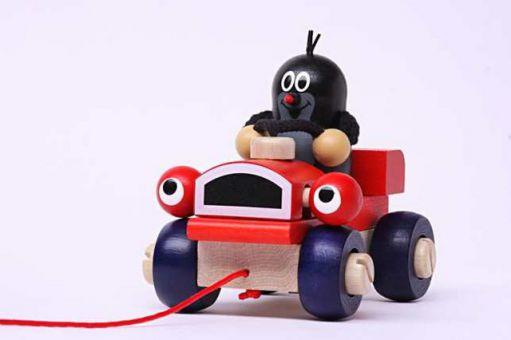 Der kleine Maulwurf mit Kulleraugen-Auto