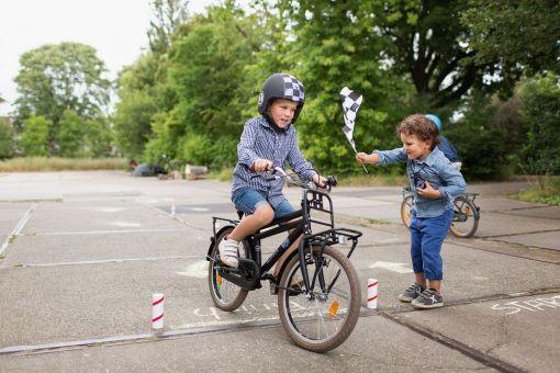 Fahrrad Rennparcour
